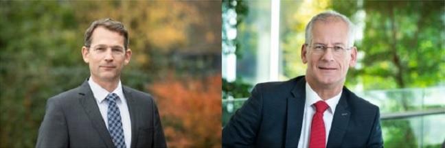 Links op de foto Maarten Abbenhuis rechts op de foto Ben Voorhorst Foto TenneT
