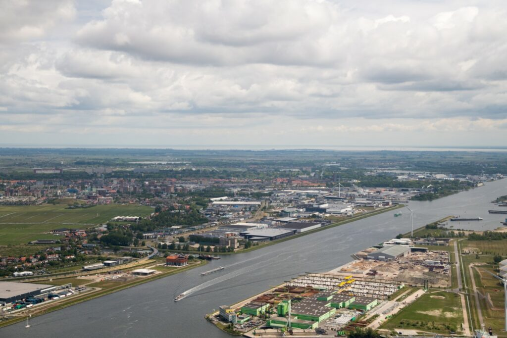 Noordzeekanaalgebied. Foto, Bram van de Biezen