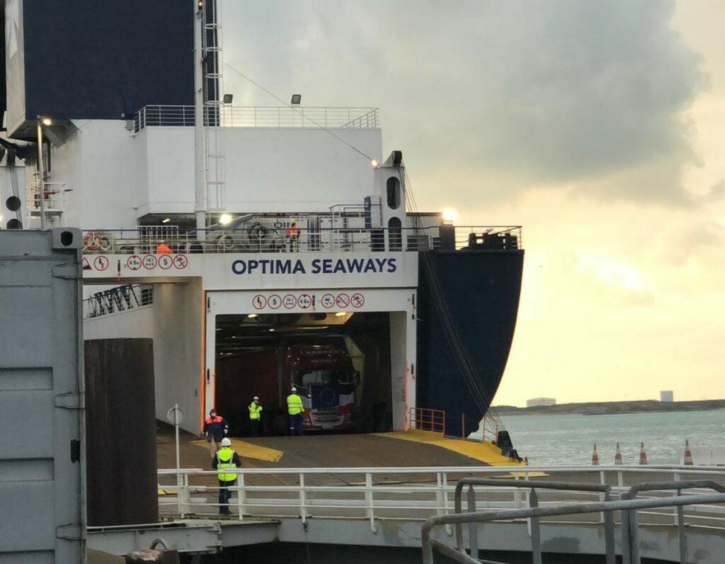 Nieuwe DFDS-veerlijn Duinkerken - Rosslare geopend
