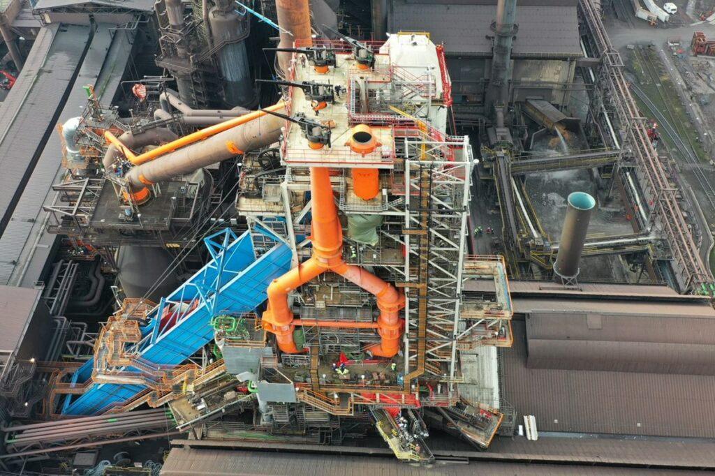 Foto North Sea Port ArcelorMittal Gent