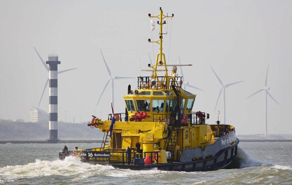 Foto, Port of Rotterdam.
