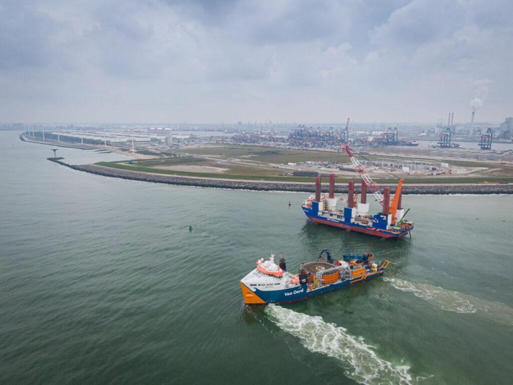 Van Oord Hollandse Kust Zuid project