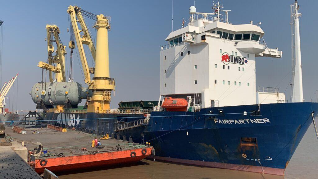 Heavy lift vessel 'Fairpartner' Photo, Jumbo.