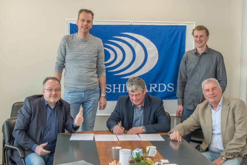 """Koninklijk Nederlands Instituut voor Onderzoek der Zee"""" en """"Next Generation Schipyards"""" NIOZ 23-3-2021"""