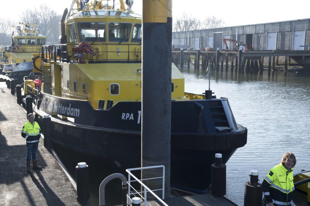 Shipyard Rotterdam op Rotterdam Heijplaat. Foto, Ries van Wendel de Joode.