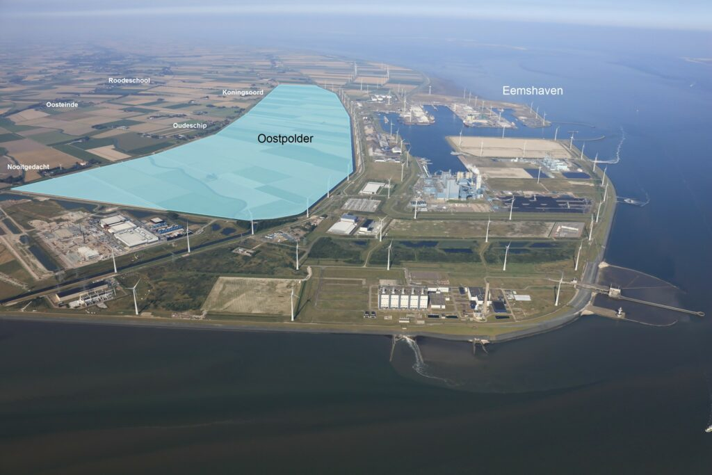 Oostpolder. Foto, Groningen Seaports