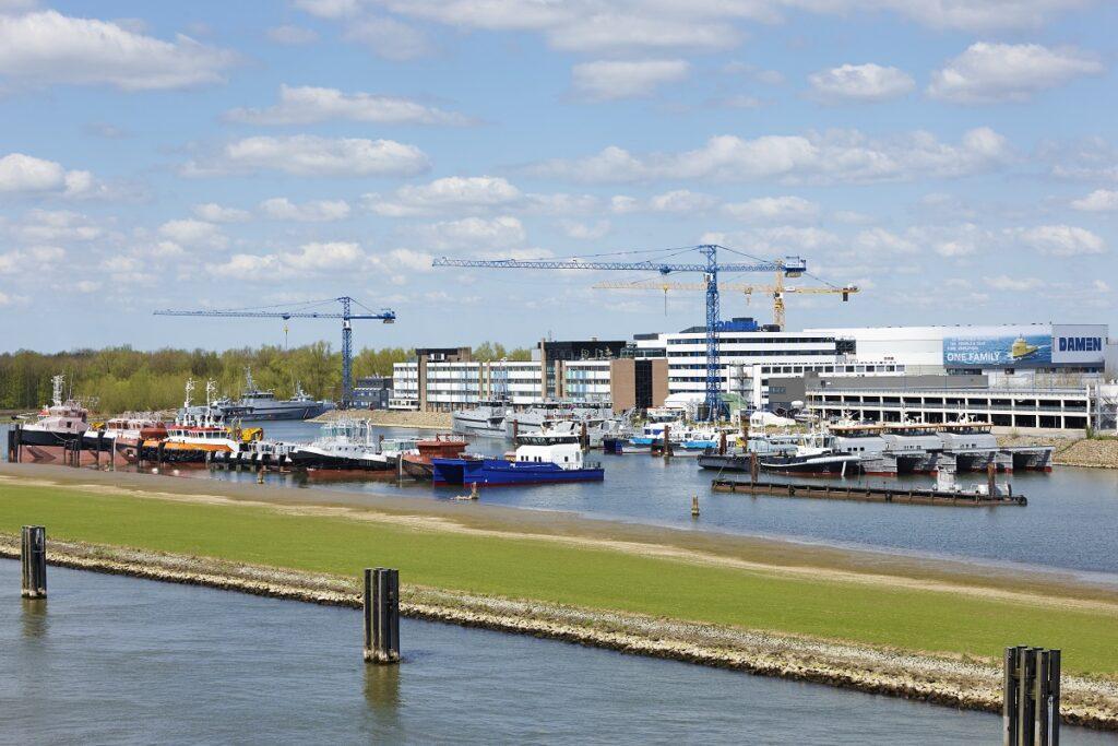 Damen Shipyards Group Hoofdkantoor in Gorinchem
