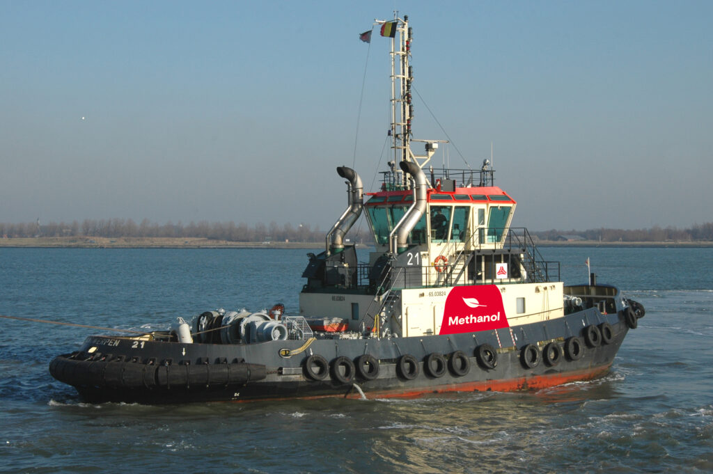 Methatug. Foto, Port of Antwerp.