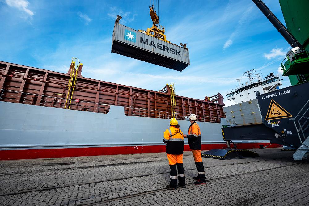 Medium Shortsea Foto, Port of Antwerp.