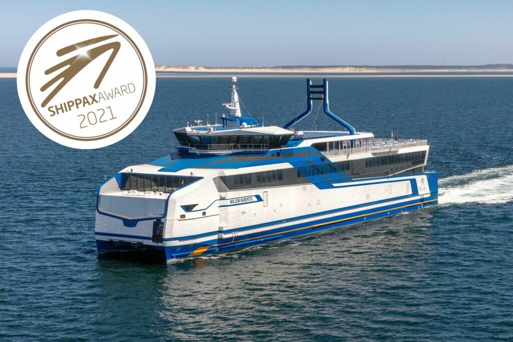 Rederij Doeksen wint Shippax Award 2021