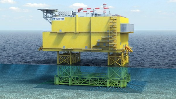 Offshore Station. Foto, TenneT