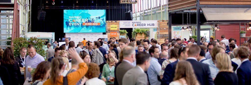 Navingo Career Event 2019 in de RDM Rotterdam Onderzeebootloods