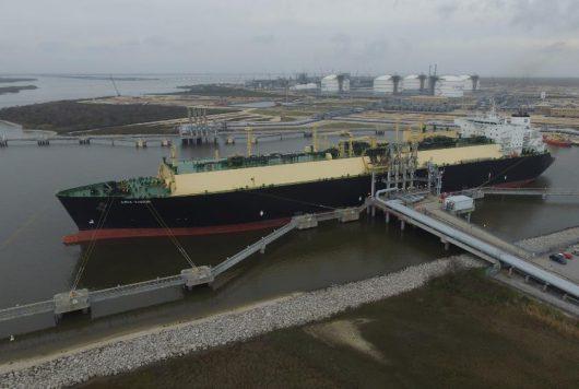 Sabine Pass LNG terminal