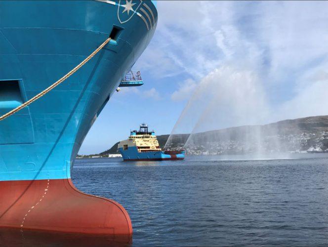 Maersk Minder Starfish Vessel launch: Photo by Marianne Hovden / Kleven