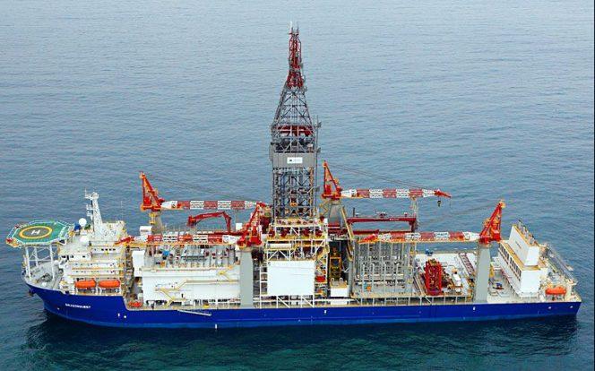 Titanium Explorer drillship (Image source: Vantage Drilling)