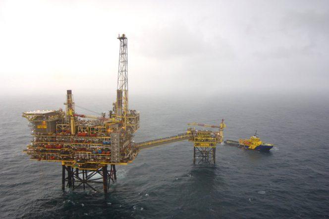 Shearwater Platform North Sea Shell