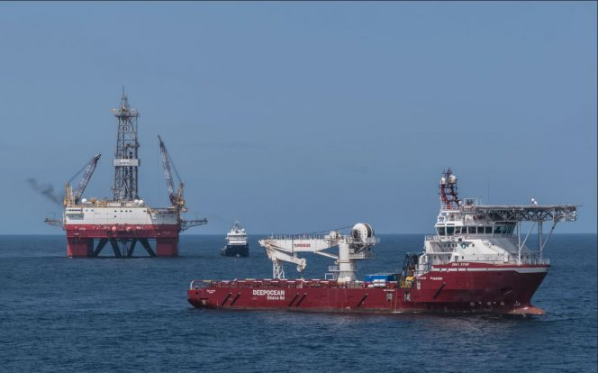West Leo rig Seadrill drilling semi-submersible