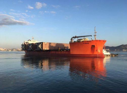 Talisman heavy load vessel