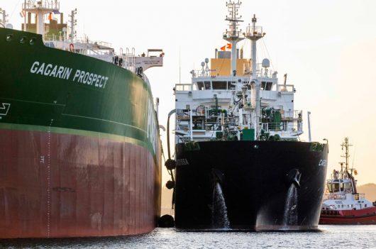 LNG bunkering, Port of Rotterdam