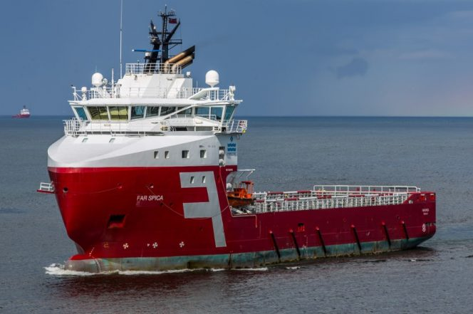 A Solstad Offshore vessel / Image by Alan Jamieson