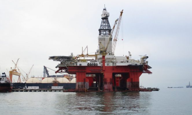 Transocean Norge, formerly known as West Rigel