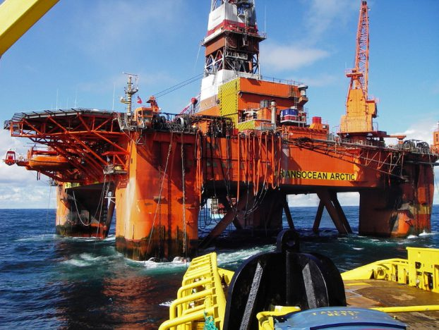 Transocean Arctic rig/ Image by Marcusroos, under Public Domain license