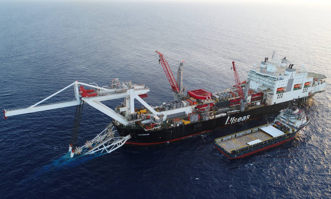 Allseas-owned pipelay vessel kicks off Nord Stream 2 work - Offshore Energy