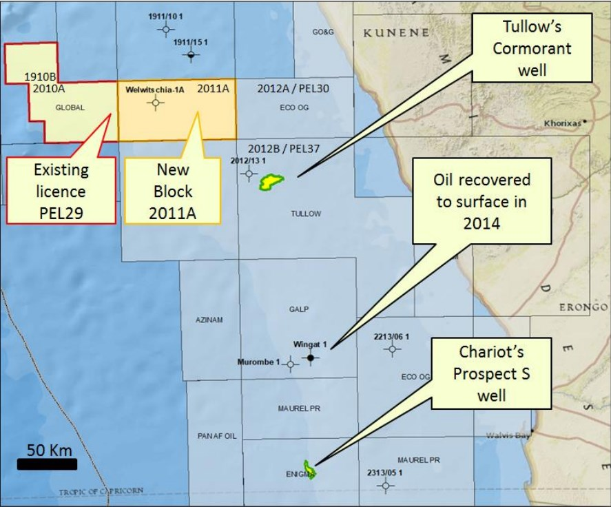 Tullow to buy Calimas offshore acreage in Namibia - Offshore
