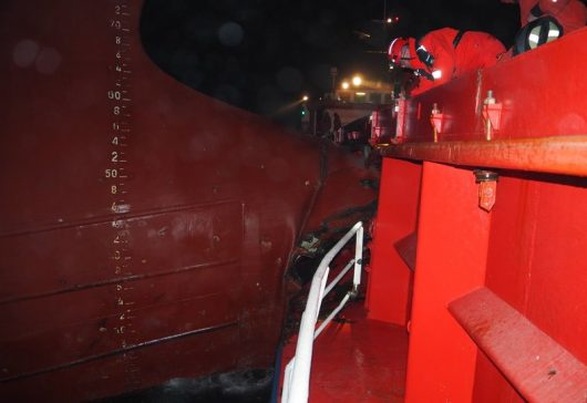 Collision betweem EEMS Cobalt and Parksoy 1