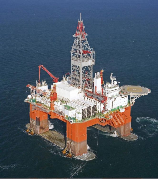 West Aquarius drilling rig / Image by Seadrill