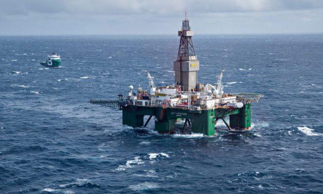 Ocean Rig's Leiv Eiriksson semi-sub / Image by Lundin Petroleum