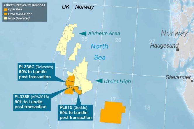 Map Source: Lundin Petroleum
