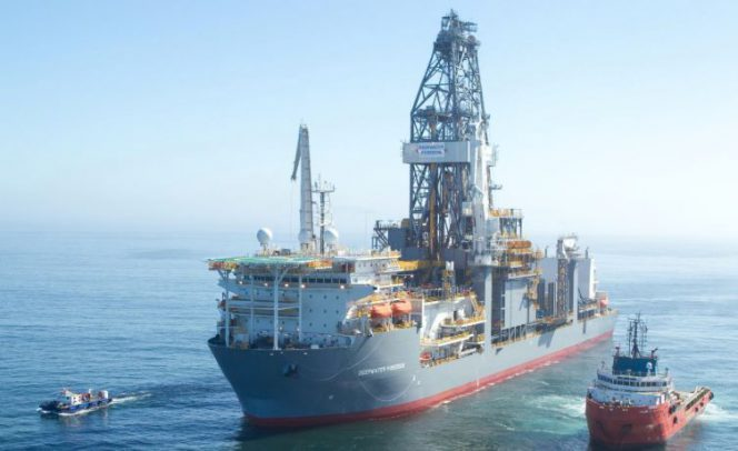 Deepwater Poseidon is working for Shell in the Gulf of Mexico (Image by Shell)