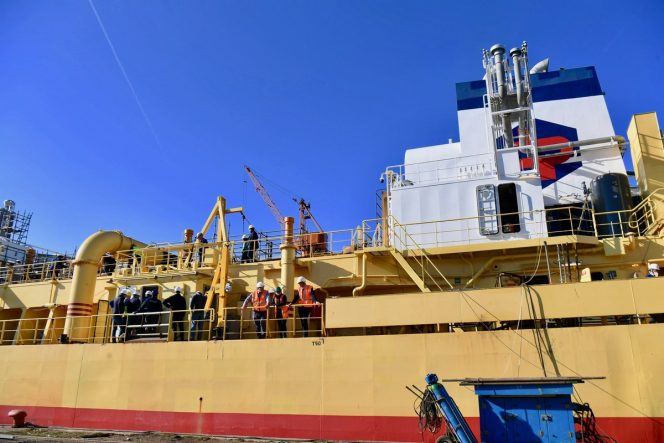 Damen bringing French dredger LNG conversion to conclusion