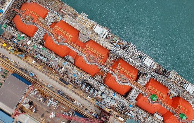 Keppel acquires stake in Golar's second FLNG conversion
