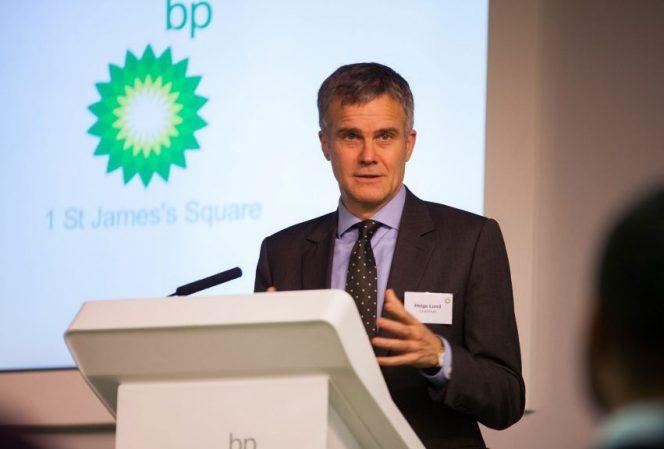 BP Chairman Helge Lund / Image source: BP