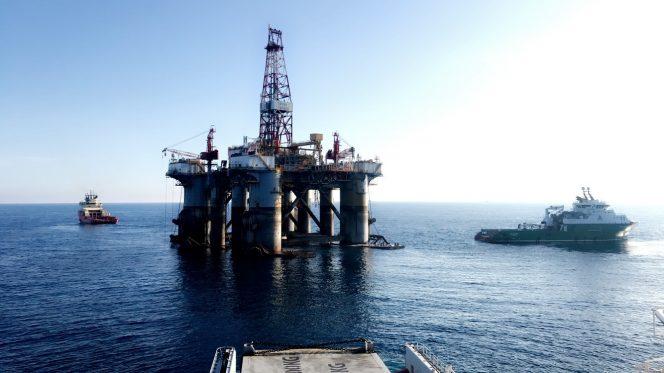 Ocean Valiant drilling rig / Image source: Deep Sea Mooring