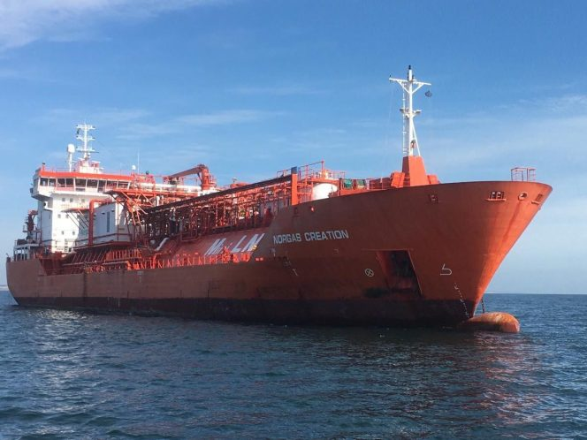 Anthony Veder expands fleet with LNG-LEG pair