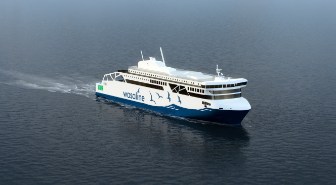 Wärtsilä tech chosen for Wasaline LNG-biogas ferry