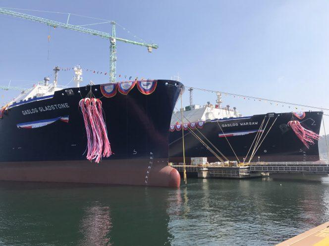 GasLog names LNG pair at Samsung Heavy