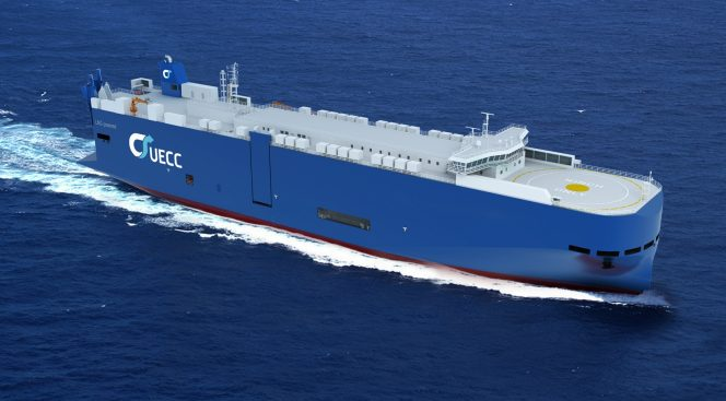 UECC orders battery hybrid LNG car carriers