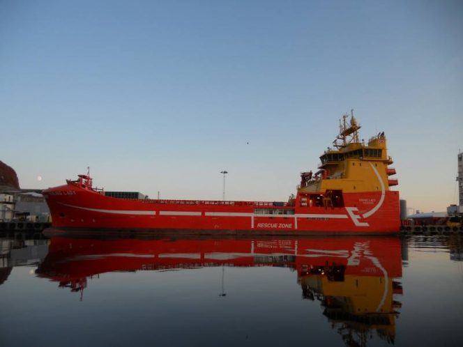 Aker BP contracts Eidesvik's LNG-fueled PSV