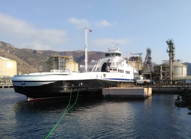 Redwise completes Torghatten Nord's LNG ferries delivery