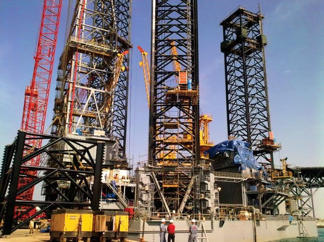 Mercury jack-up rig / Image by Eurasia Drilling Company