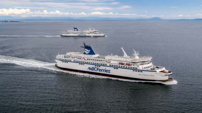 BC Ferries second Spirit Class LNG-converted vessel enters service