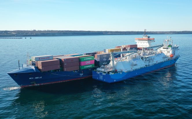 Kairos supplies LNG to Wes Amelie in Visby