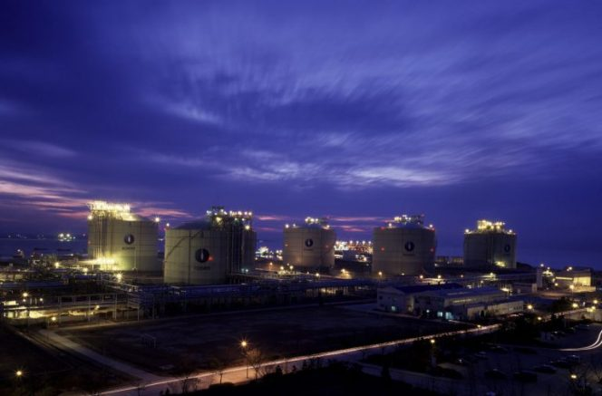 South Korea's March LNG imports plunge 35 pct