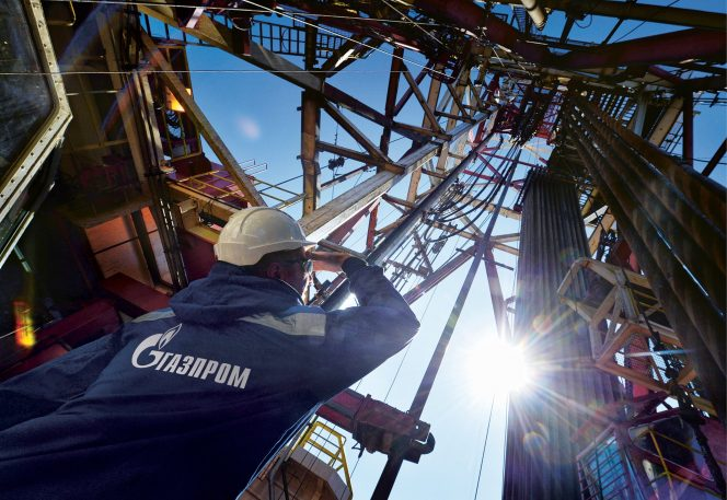 Gazprom's year-to-date production up 2 pct