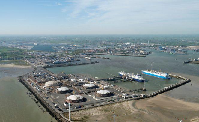 Angolan LNG cargo heading for Zeebrugge