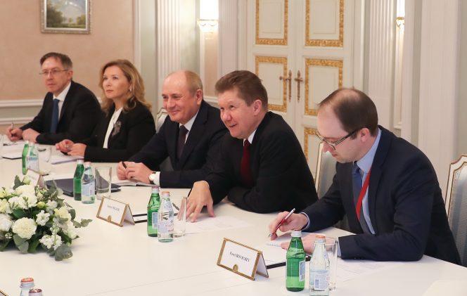 Gazprom, OMV talk gas cooperation